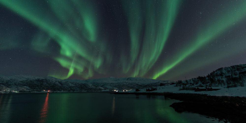 aurores tromso kvaloyvagen en Norvège | Blog Vincent Voyage