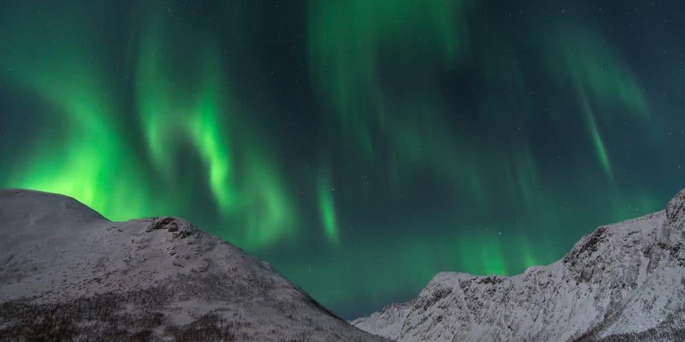 aurores boreales sommaroy nordfjorden en Norvège | Blog Vincent Voyage