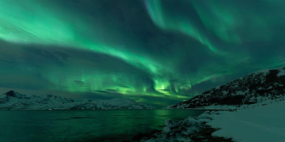 aurores boreales skulsfjord tromso en Norvège | Blog Vincent Voyage