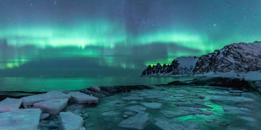 aurores boreales tungeneset senja norvege | blog vincent voyage