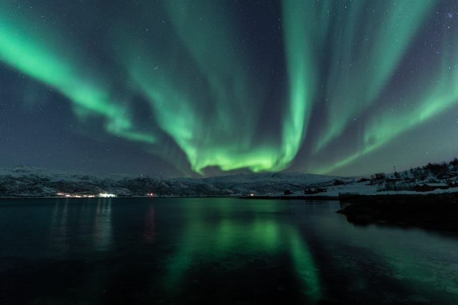 aurores boreales kvaloya tromso norvege | blog vincent voyage
