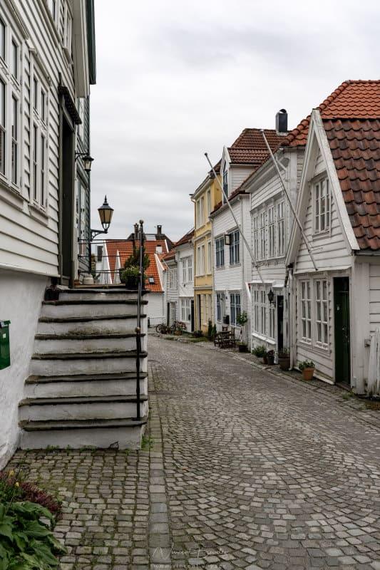 Maisons en bois à Bergen à Nordnes