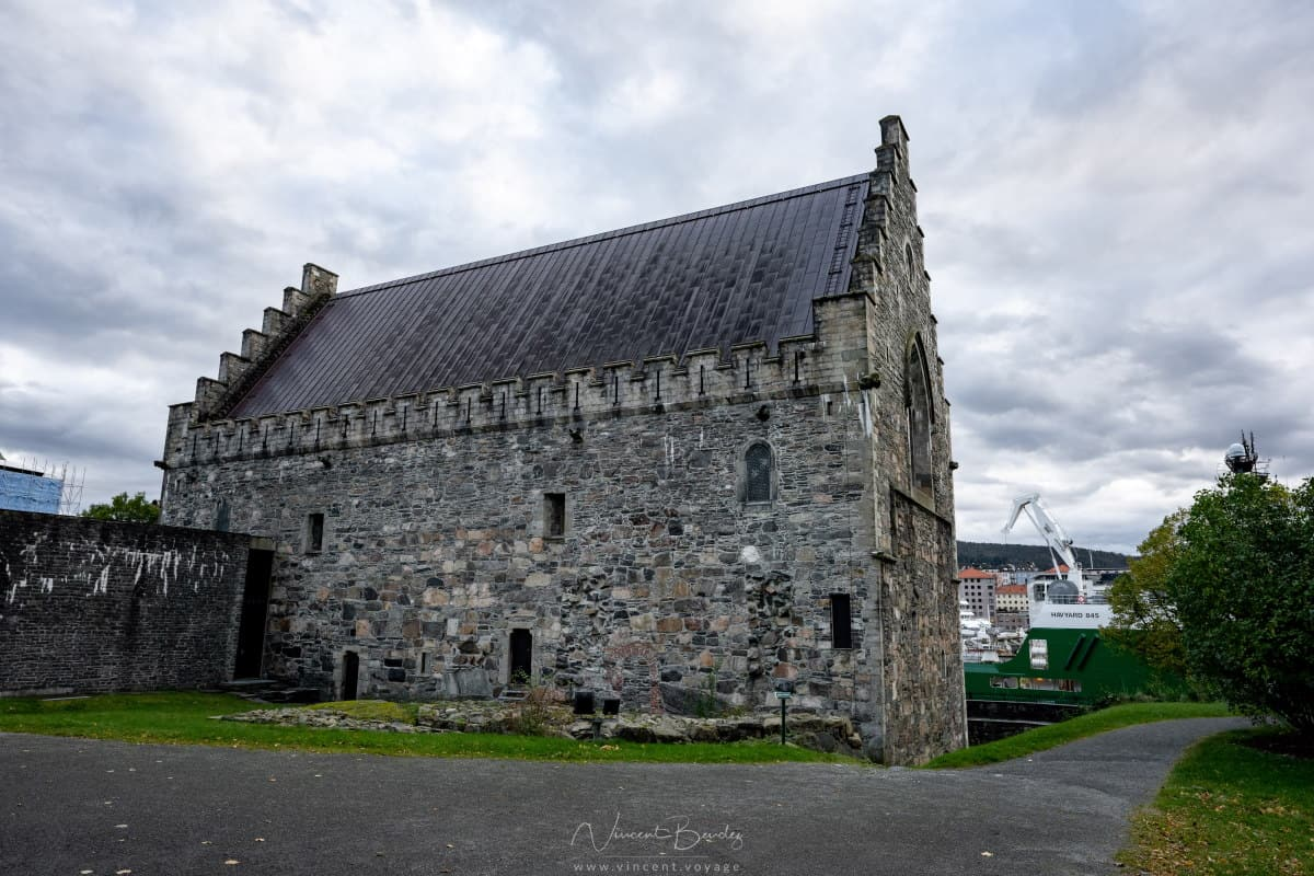 Hall roi Hakon forteresse Bergen