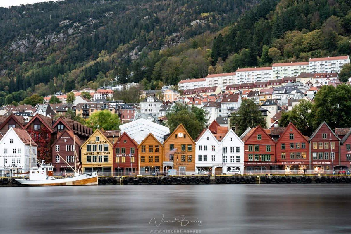 quartier de Bryggen à Bergen