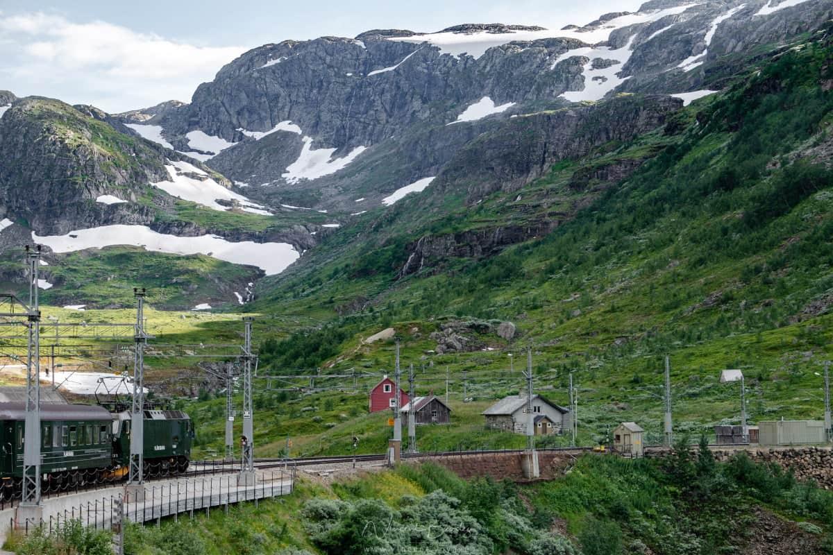 Train de Flam en Norvège