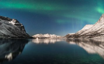aurores boreales grotfjord kvaloya tromso norvege blog vincent voyage