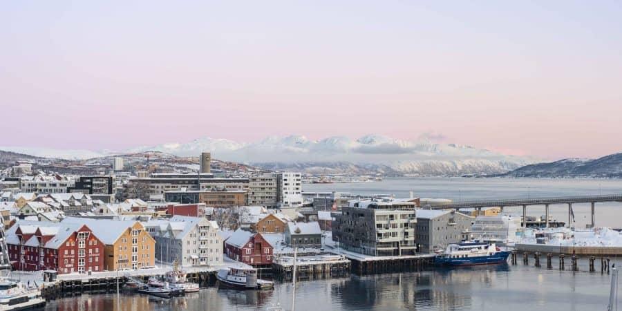 lever de soleil tromso norvege | blog vincent voyage