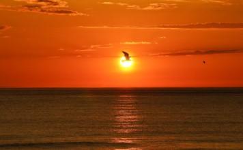 soleil de minuit iles lofoten plage uttakleiv Norvège   Blog Vincent Voyage