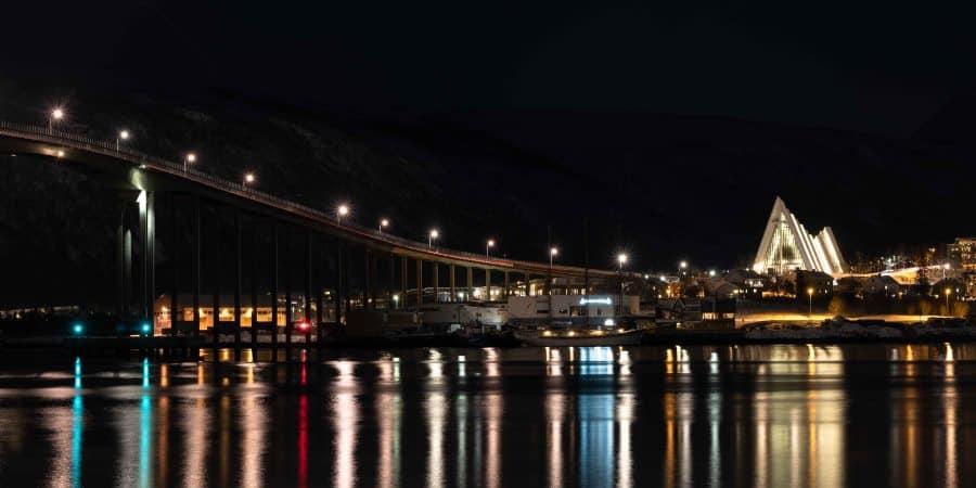 pont cathedrale tromso norvege | blog vincent voyage