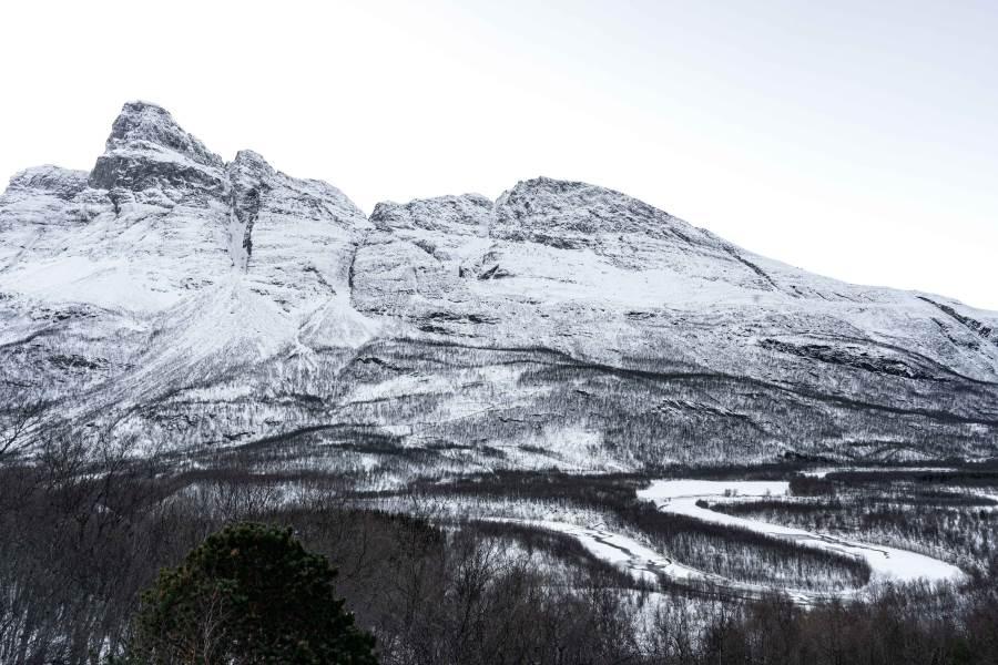 Aurores boréales Otertind signaldalen Tromso Norvege