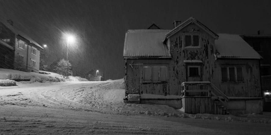 Tromso sous la neige en norvege | blog vincent voyage
