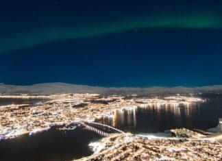 Aurores boreales au dessus de tromso norvege | blog vincent voyage