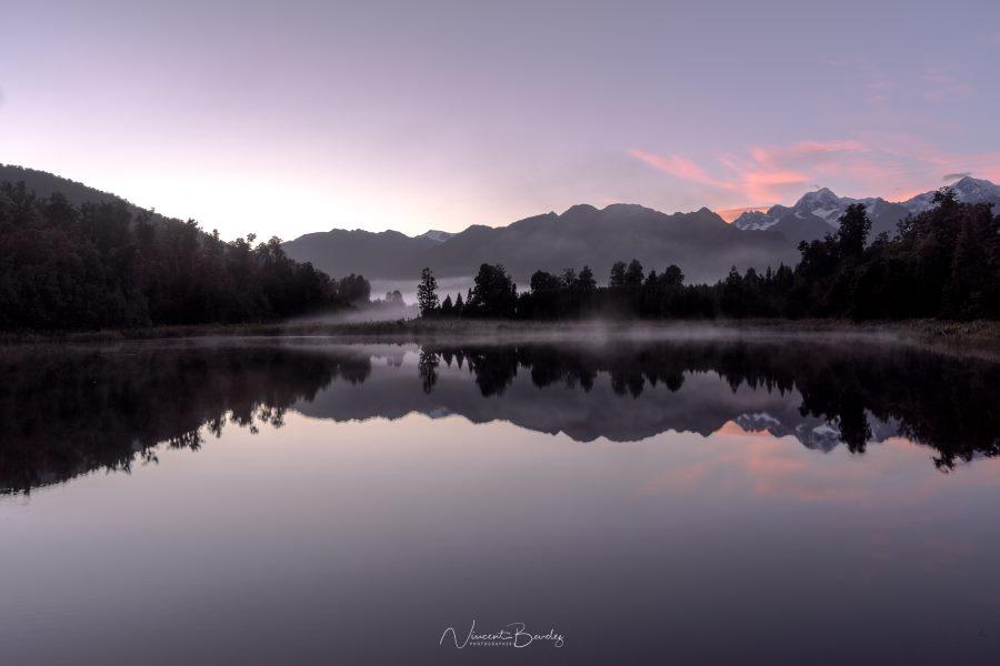 Plus belles photos lever de soleil lac en Nouvelle Zélande | Blog Vincent Voyage