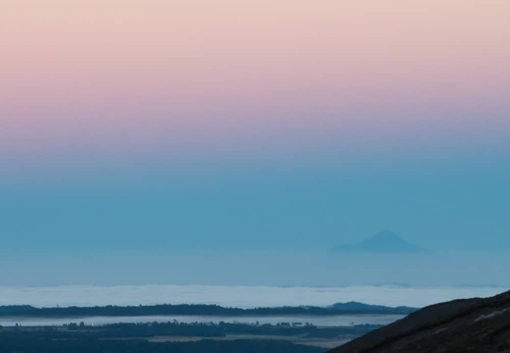 lever soleil tongariro taranaki Nouvelle Zelande | Blog Vincent Voyage