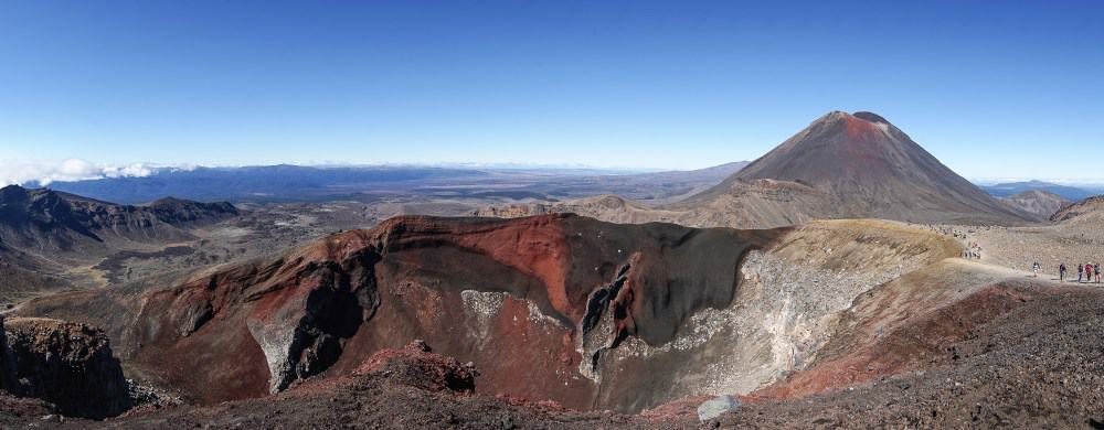 Red Crater tongariro randonnée volcan Nouvelle Zelande | Blog Vincent Voyage