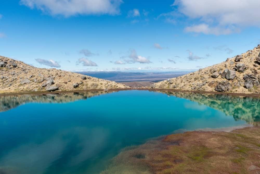 tongariro emerald lakes lacs randonnée volcan Nouvelle Zelande | Blog Vincent Voyage
