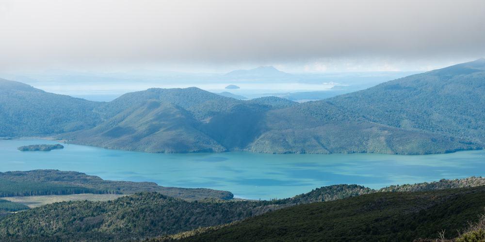 randonnée tongariro lac Rotoaira volcan Nouvelle Zelande | Blog Vincent Voyage