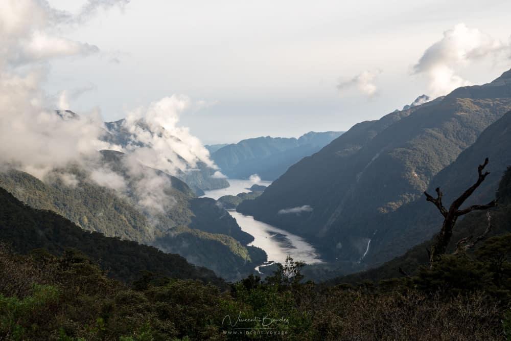 Vue Doubtful Sound Nouvelle Zélande