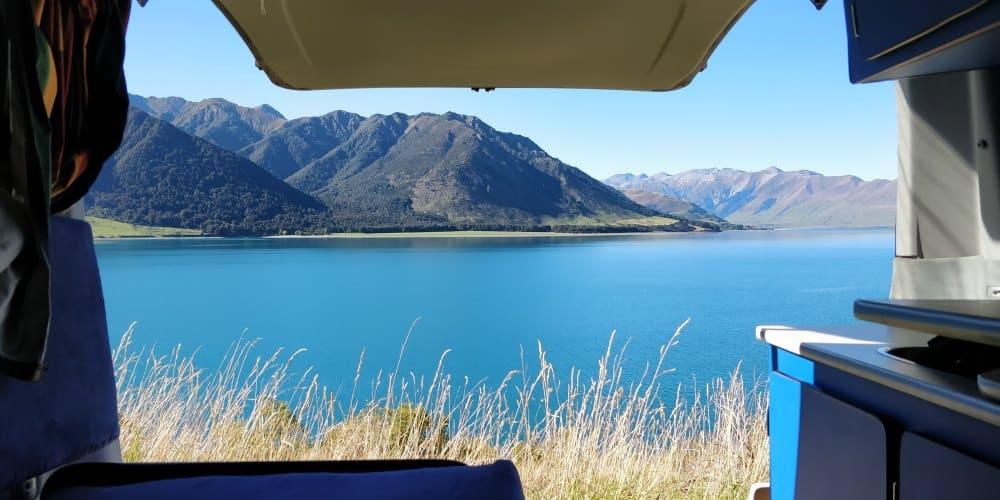 voyager en van routes Nouvelle Zélande lac Hawea | Blog Vincent Voyage