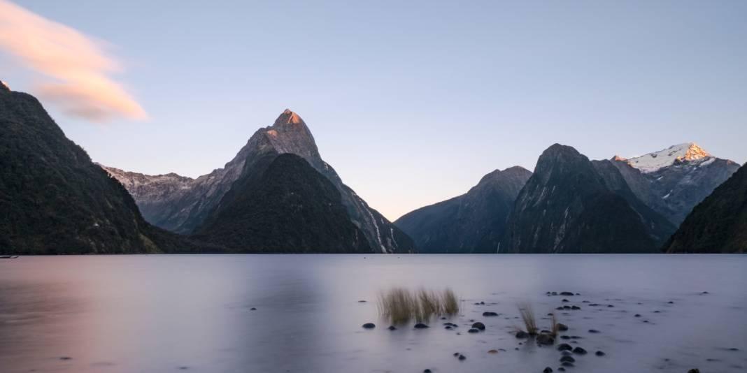 milford sound lever de soleil nouvelle zelande | Blog Vincent Voyage