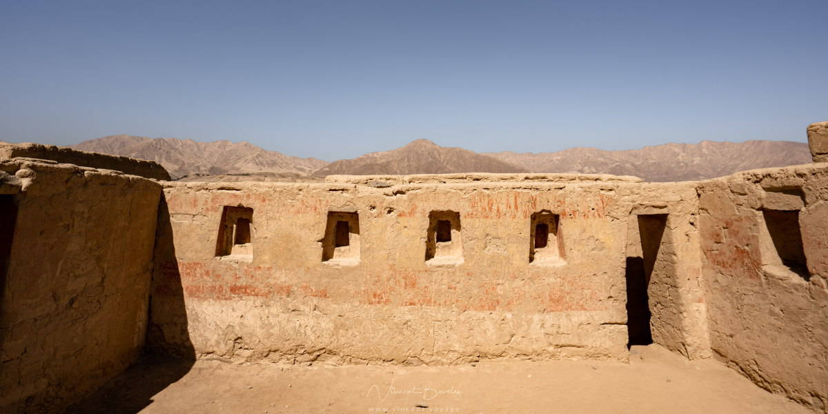 Site de Tambo Colorado à Pisco
