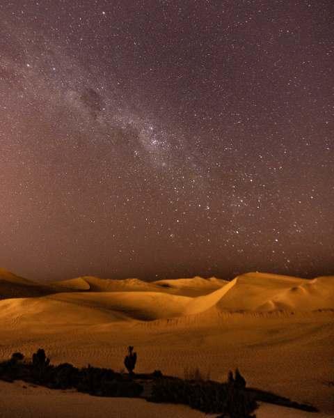 ciel huacachina nuit étoiles pérou | Blog Vincent Voyage