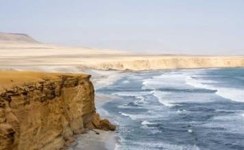 cote désert paracas mer Pérou | Blog Vincent Voyage