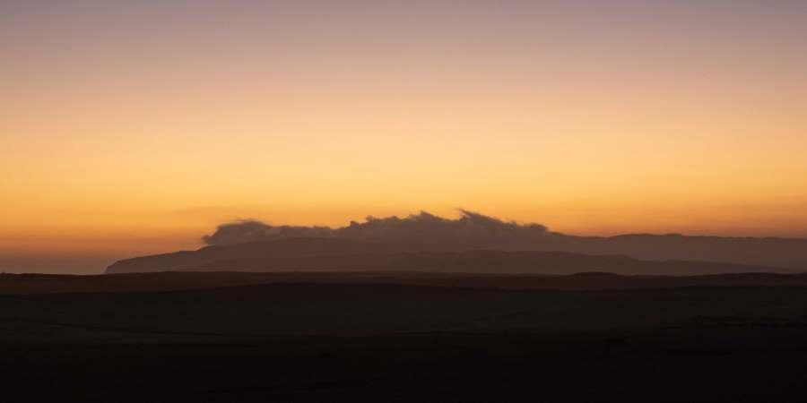 coucher de soleil paracas Ica | Blog Vincent Voyage