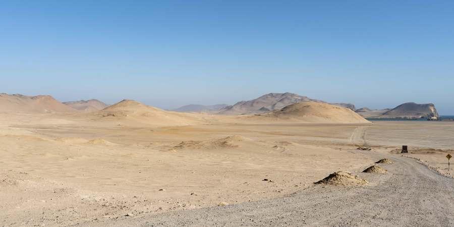 desert paracas Pérou Ica Route | Blog Vincent Voyage