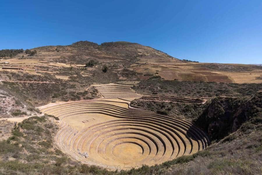 terrasses agriculture moray cuzco pérou | blog vincent voyage
