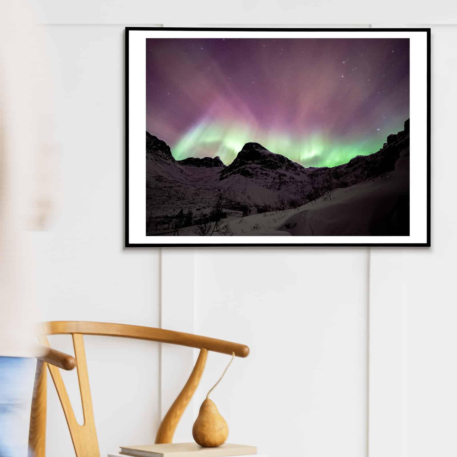 Acheter photo aurores boréales