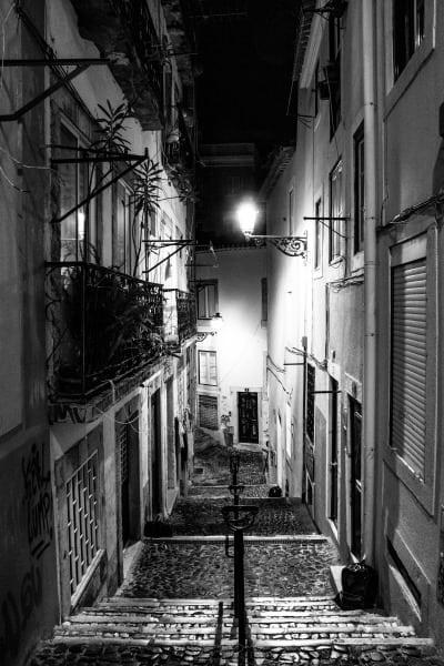 lisbonne de nuit portugal | Blog Vincent Voyage