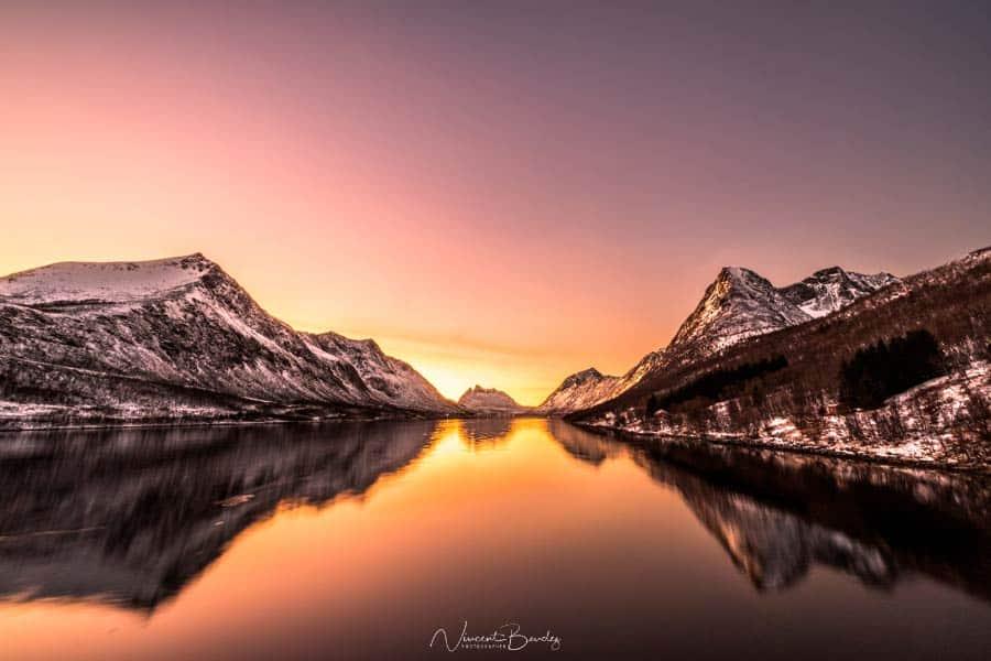visiter Senja coucher de soleil Gryllefjord Norvège Tromso | Blog Vincent Voyage