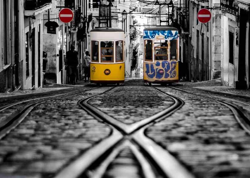 tramway lisbonne portugal visiter | Blog Vincent Voyage