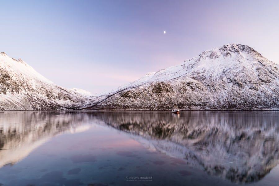 Senja norvège coucher de soleil Torsken Tromso | Blog Vincent Voyage