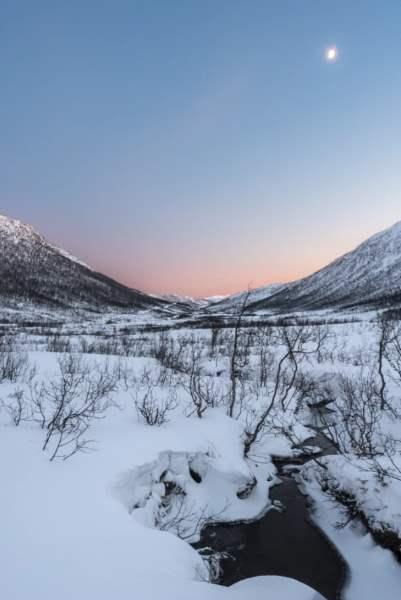 Coucher de soleil vallée Senja Norvege Tromso | Blog Vincent Voyage