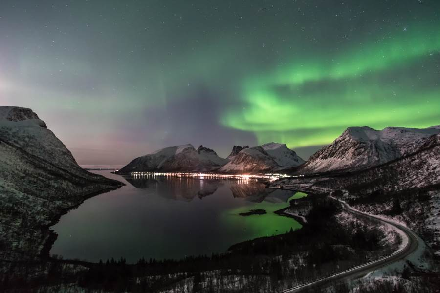 senja northern lights