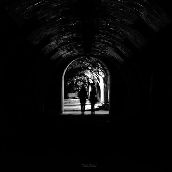 nuit paris noir et blanc tunnel quai de seine France | Blog Vincent Voyage