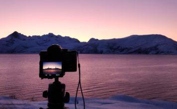 matériel photo pour paysages aurores boréales Sony