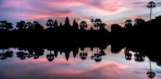 angkor lever soleil