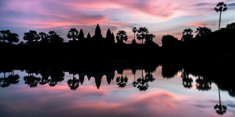 angkor wat vat lever de soleil au Cambodge blog de voyage