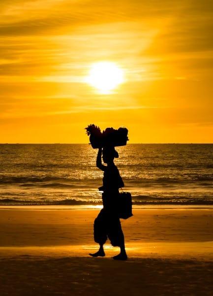 coucher de soleil birmanie ngapali