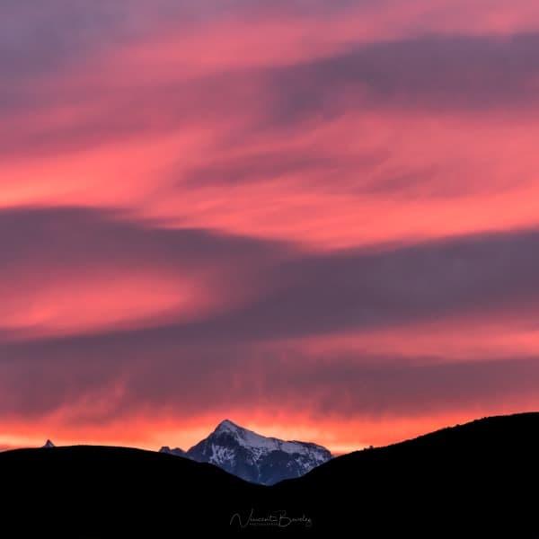 coucher de soleil nouvelle zelande