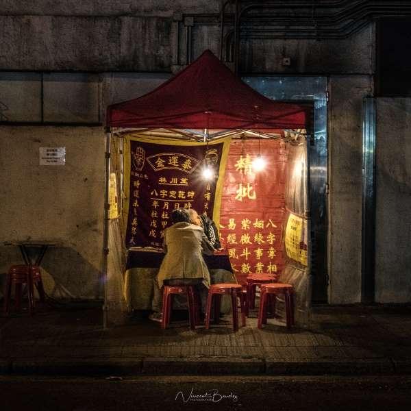 fortune teller hong kong bonne aventure voyant Temple street | Blog Vincent Voyage