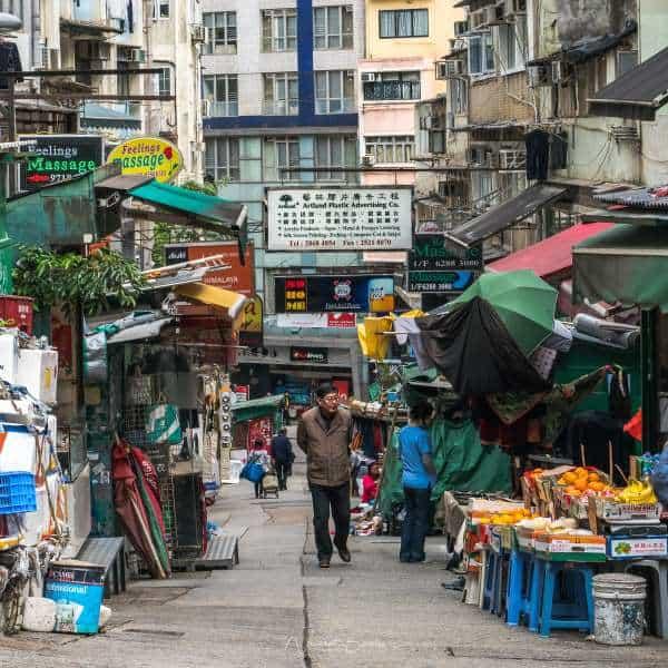 visiter hong kong streetlife rues vieille ville | Blog Vincent Voyage