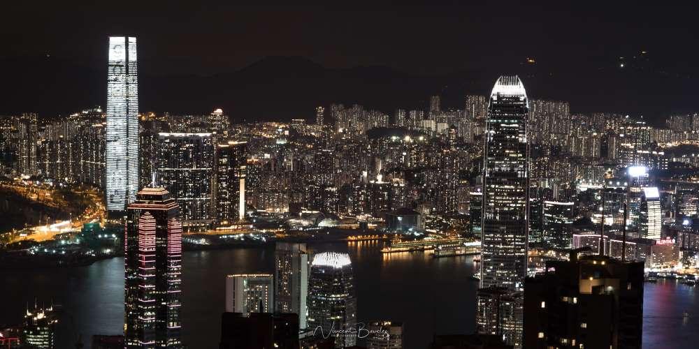 victoria peak hong kong vue immeubles | Blog Vincent Voyage