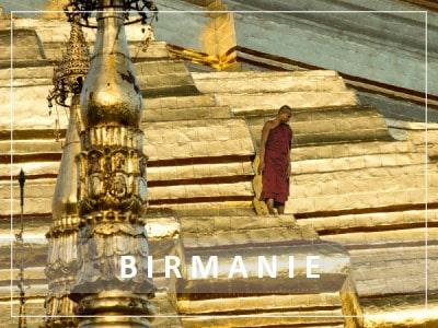 Itinéraire voyage en Birmanie