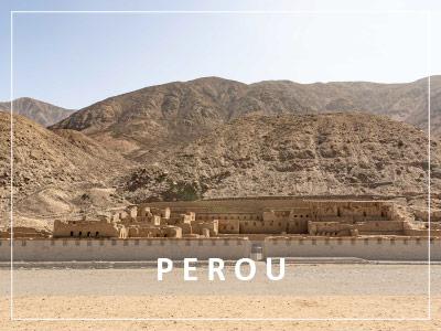 Site inca Tambo Colorado au Pérou