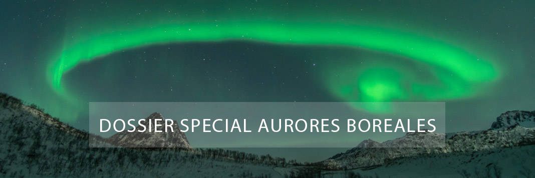 dossier special aurores boreales norvege