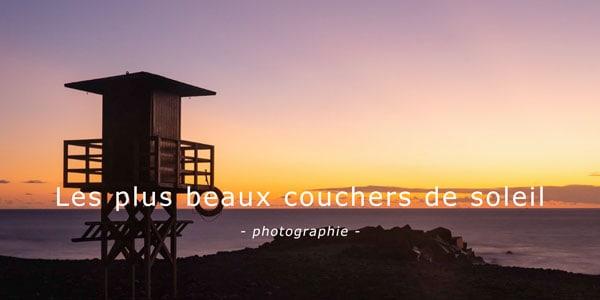 plus beaux couchers soleil canaries blog voyage